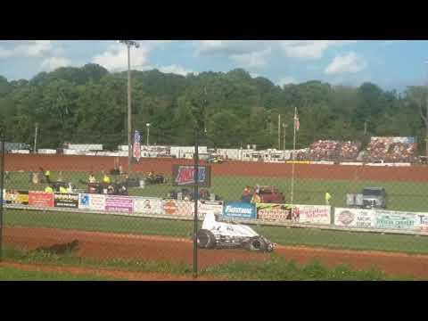 USAC Sprint Car Hot Laps Part 2/2  Bloomington Speedway