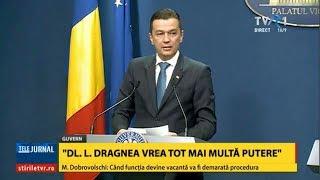 """Sorin Grindeanu, atac dur la Liviu Dragnea: """"CEx-urile sunt organizate doar pentru execuţii"""""""