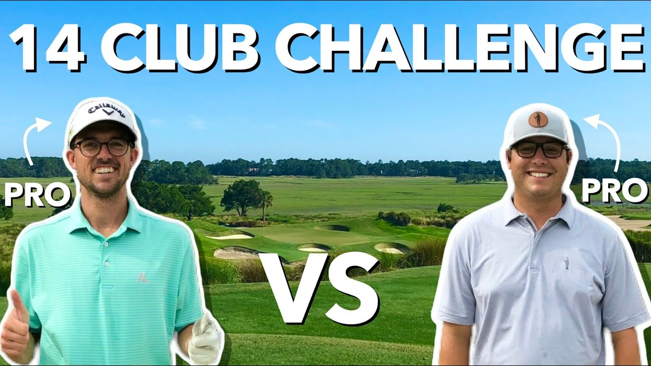 14 Club Challenge. Pro vs Pro. Kiawah Island Club. | Bryan Bros Golf