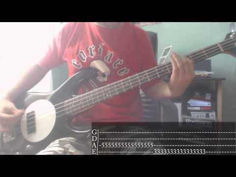 Pop-Punk/Punk-Rock's Week - 03 - New Found Glory - My Friends Over You [Bass Cover + Tab]