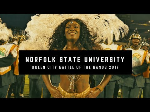 Norfolk State University Marching Band Field Show - Queen City BOTB 2017 | 4K