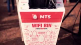 Free Wi-Fi Thrash Bin At NH7 Music Festival