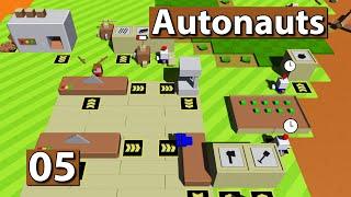 Autonauts | Metallproduktion ► #5 ► Lets Play Roboter Simulator deutsch german