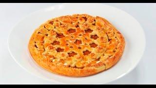 Пирог с курагой | Теле-теле-тесто
