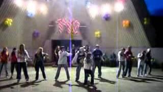 "Hip-hop dance crew ""M.C. Black"" (Эм. Си. Блэк) - Black power"