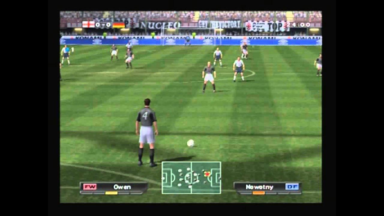 official uk ps2 magazine demo disc pro evolution soccer. Black Bedroom Furniture Sets. Home Design Ideas
