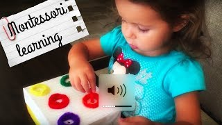 montessori toys and activities for 2 years old