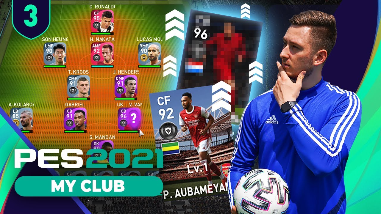 GOL SEZONU & MEGA UPGRADE [#3] - PES 2021 MY TEAM