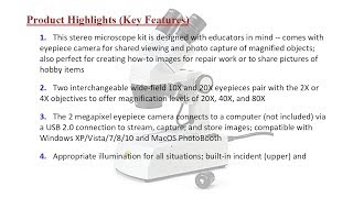 Swift S308 Binocular Stereo Microscope 20X, 40X, 80X Magnification, 2MP Digit... [Price in Pakistan]