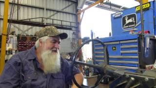 John Deere 2030, 1640, 2140, 2650 Etc Power Steering Column Overhaul Part 1