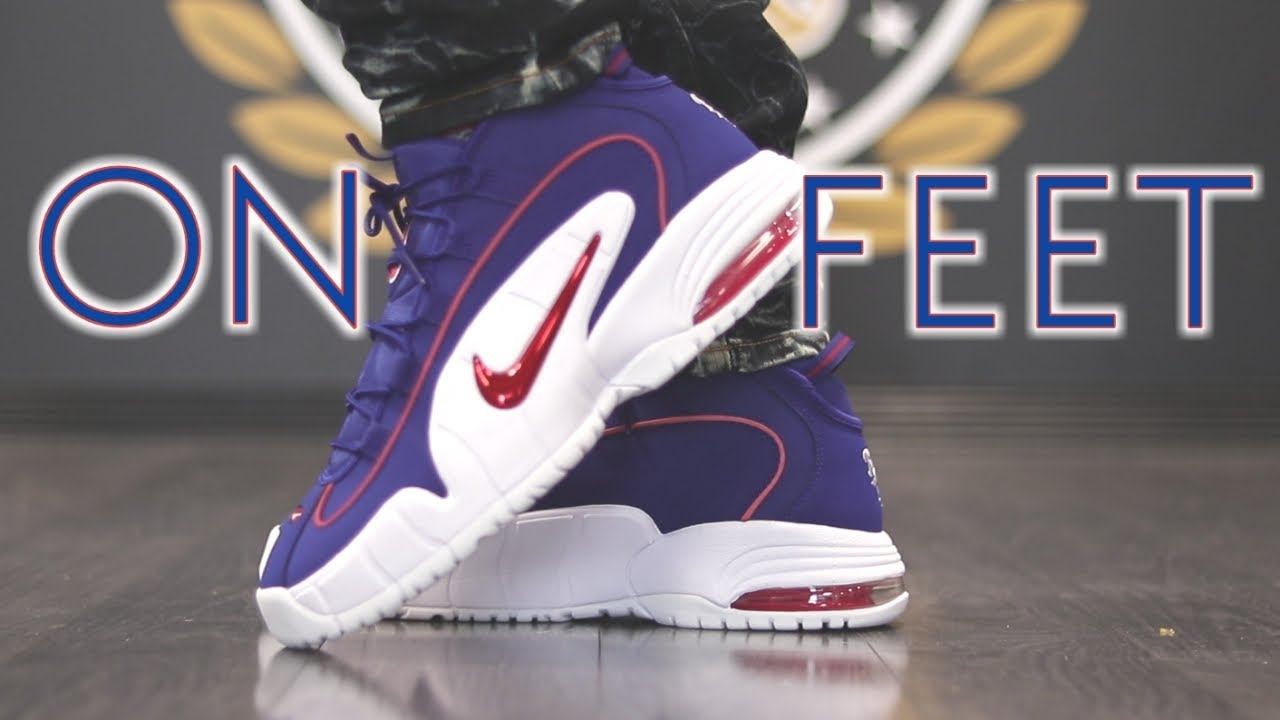 buy online e73d6 b3d19 AIR MAX PENNY 1 + ON FEET