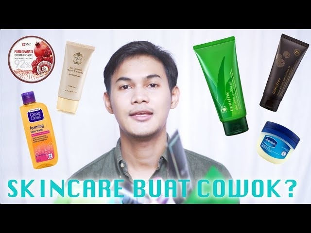 Skincare Buat Cowok Youtube