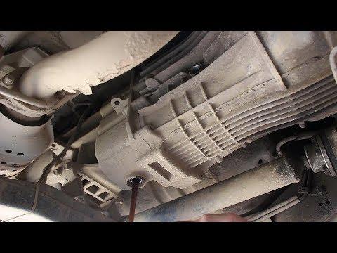 Поломка коробки передач на Киа Соренто 2005 Kia Sorento 2,5  1часть