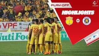 Nam Định vượt qua Hà Nội B trên chấm luân lưu sau trận Play-off căng thẳng | VPF Media
