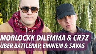 cr7z morlockk dilemma ber battlerap eminem kool savas 16bars tv