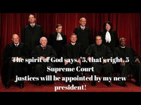 Mark Taylor Prophecy Roe v Wade Overturned Trump appoints another Supreme Court Judge