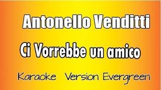 Antonello Venditti -  Ci Vorrebbe Un Amico  (versione Karaoke Academy Italia) screenshot 5