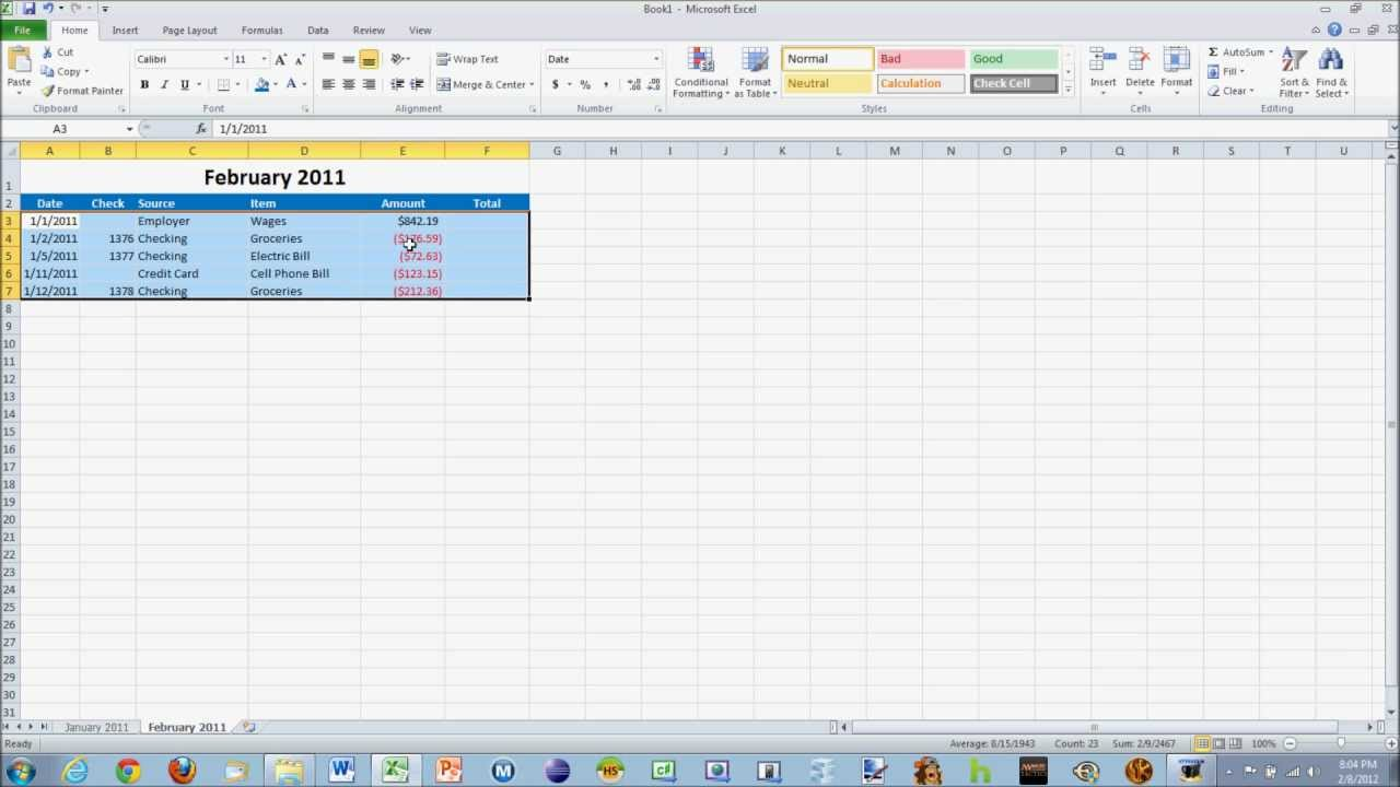 excel assignment financial spreadsheet  excel assignment financial spreadsheet 1