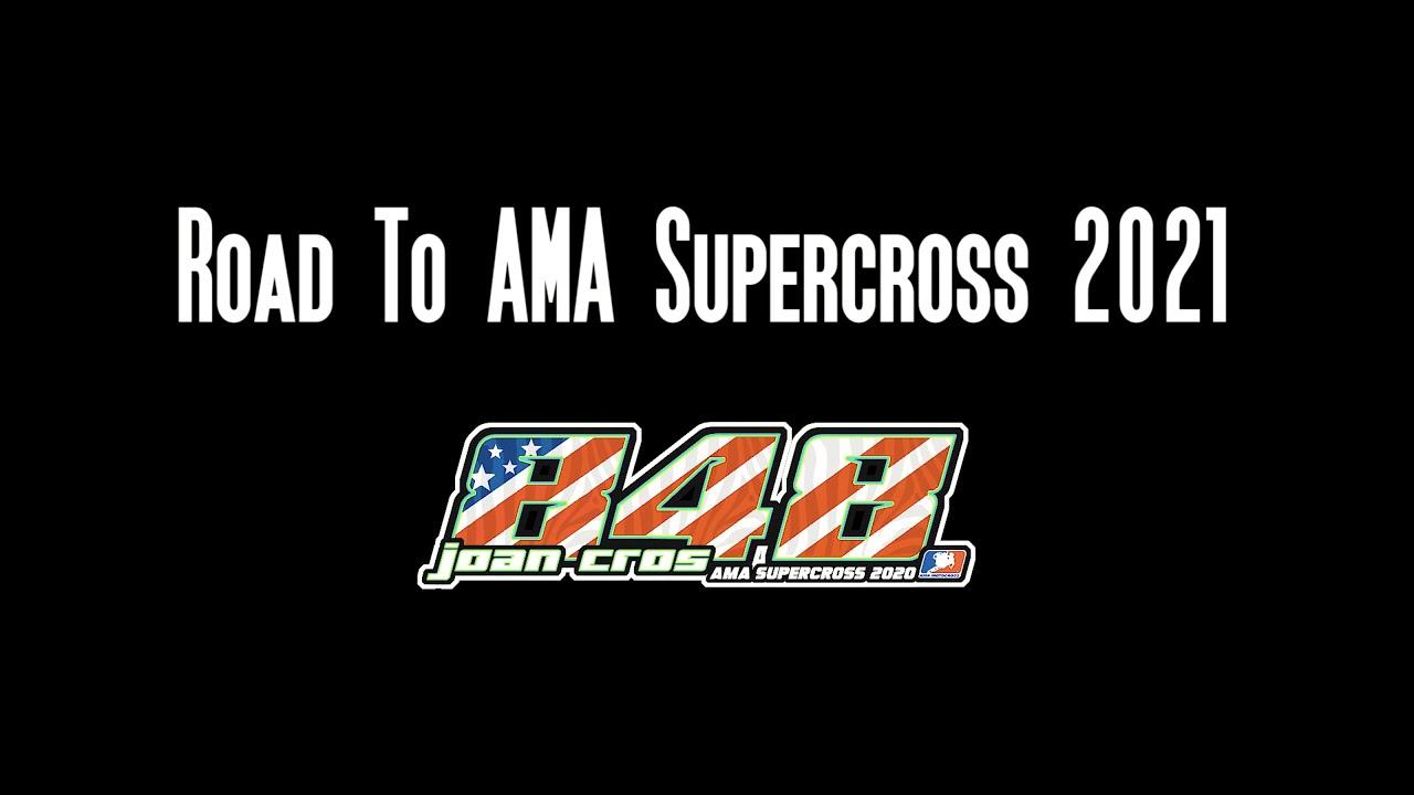 ROAD TO AMA SUPERCROSS 2021 (Vlog 1). Entrevista a Pedro Speedy González y ¡mucho más! | @joancros48