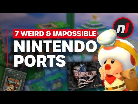 7 Weird & 'Impossible' Nintendo Ports