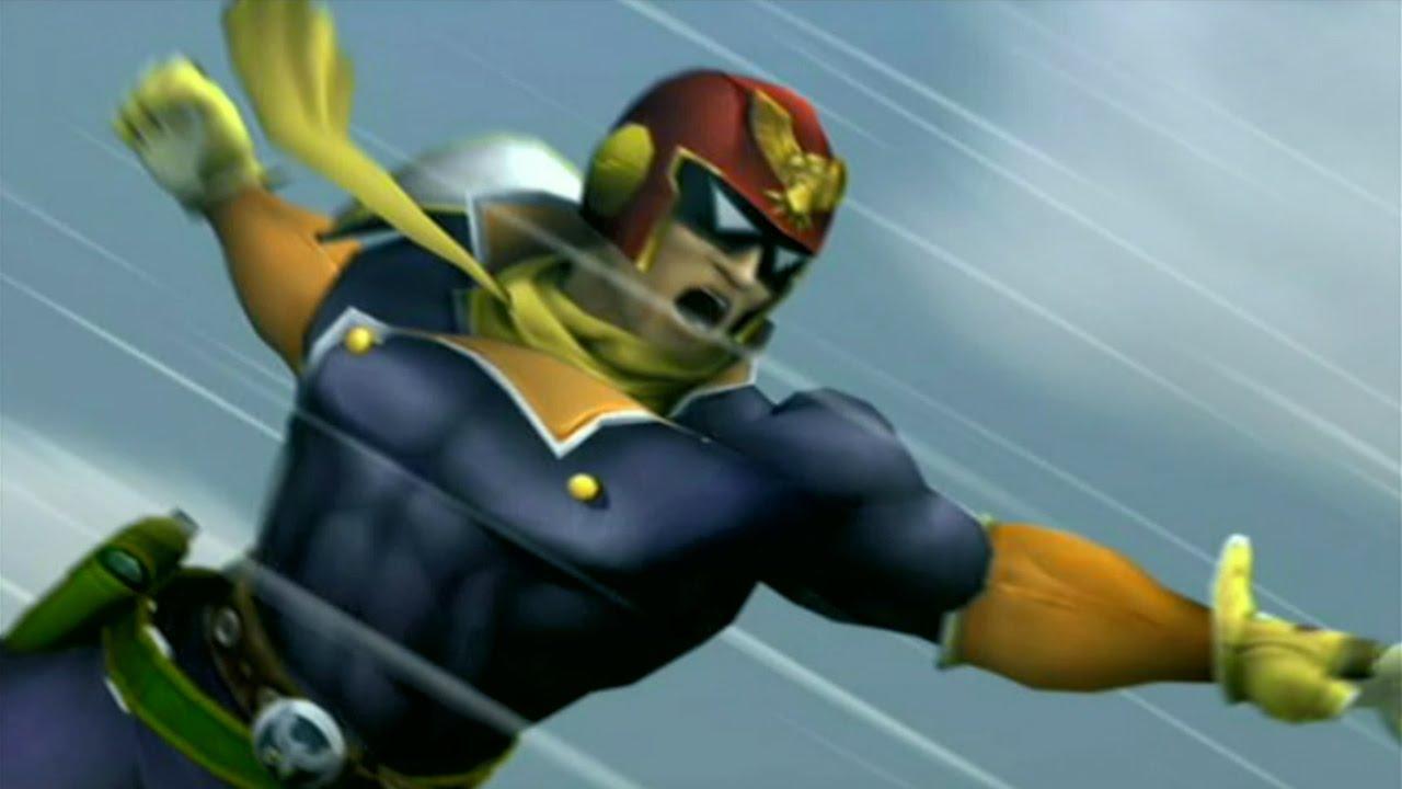 Super Smash Bros Brawl Captain Falcon Cutscenes 60fps YouTube