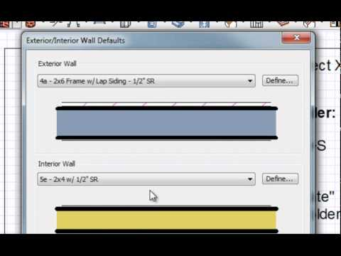 Chief Architect X3 Template Introduction - YouTube