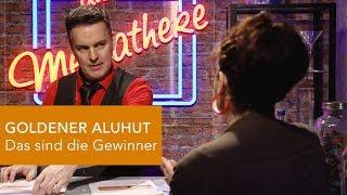 GOLDENER ALUHUT - Das sind die Gewinner