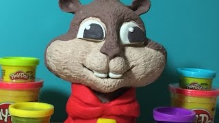 ALVIN, the Chipmunk, made with Play-Doh... by Granny B.