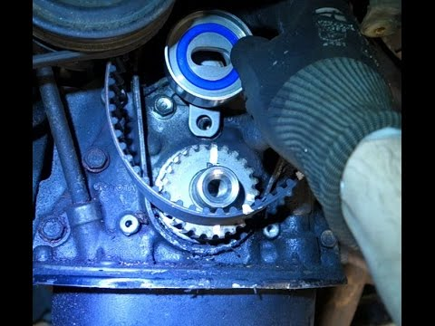 How to replace timing belt Toyota Corolla Years 1992 to 2002  YouTube