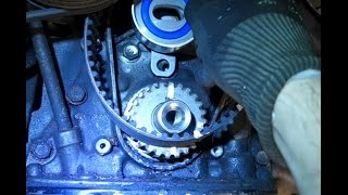 How to replace timing belt Toyota Corolla. Years 1992 to 2002.