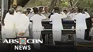 TV Patrol: Labi ni dating Pangulong Quirino, inilipat sa Libingan ng mga Bayani