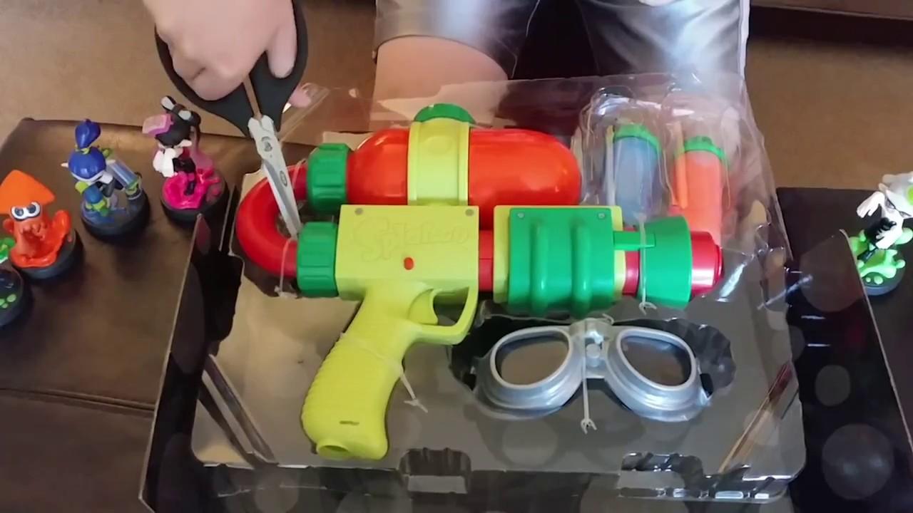 Nintendo Splatoon 2 Inkling Splattershot Blaster Ink Goo