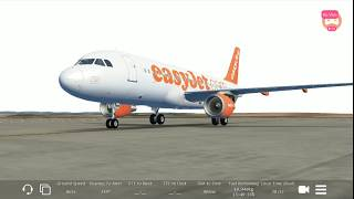 Infinite Flight Global | Voo Completo | London Gatwik - Gibraltar | EasyJet A320