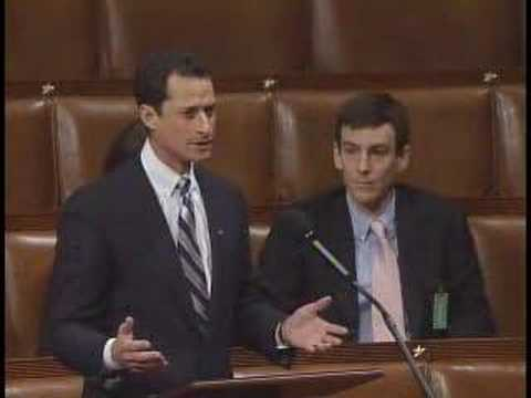 """Anthony Weiner Rips the """"Republic Party"""""""