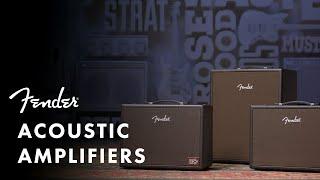 Acoustic Amplifier Series | Fender Amplifiers | Fender