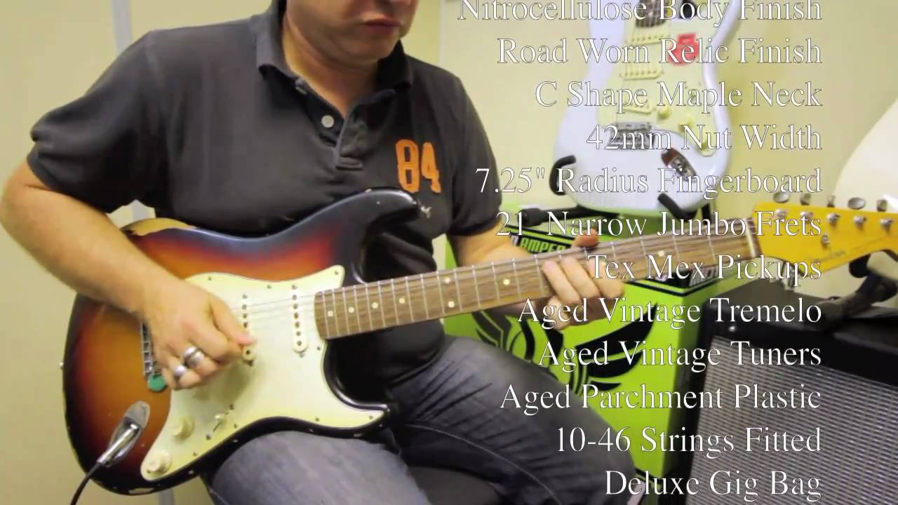 Fender Stratocasters Compared Road Worn Standard Special Classic Player Nevada Music Uk Youtube