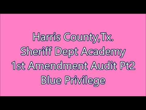Humble,Tx.-Harris County Sheriff Academy  Pt 2