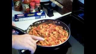 Shrimp Marinara - My Way - Part 1