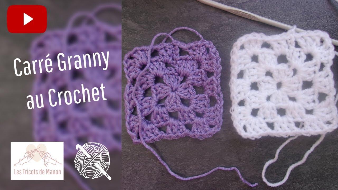 Carré Granny Au Crochet