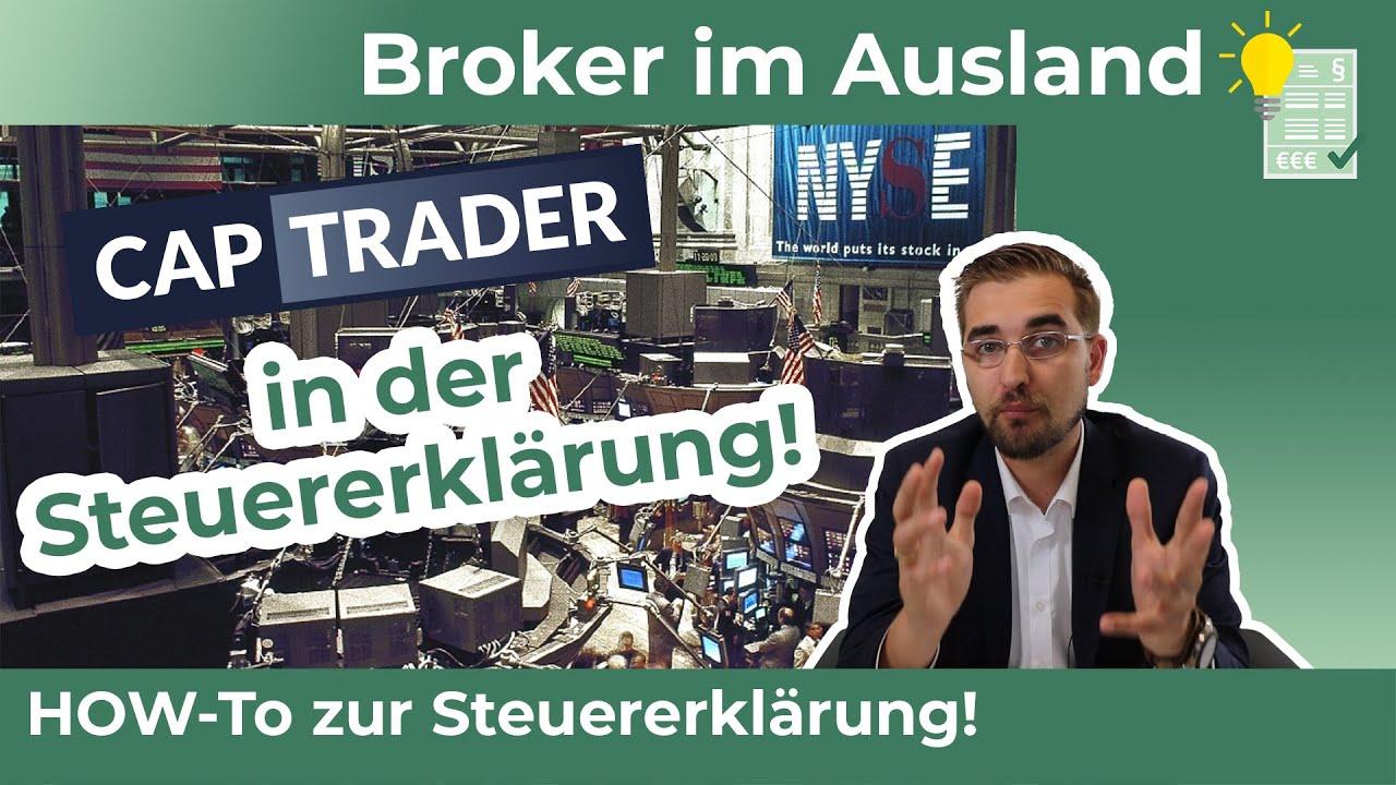 CAPTRADER - Steuererklärung mit einem Broker im Ausland - Werbung