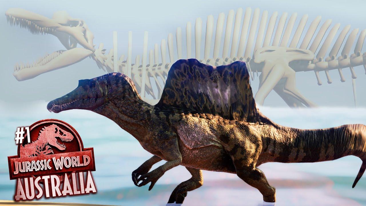 Welcome to Jurassic World AUSTRALIA! New Park Building series | Jurassic World Evolution