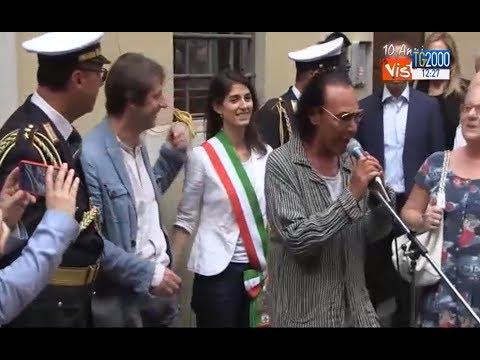 Roma, una targa ricorda Lucio Dalla. L'emozione di Antonello Venditti