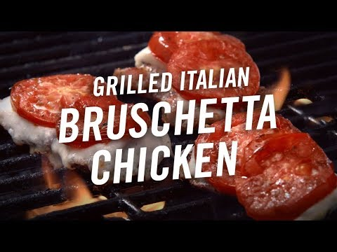 How to Make Grilled Bruschetta Chicken│McCormick® │Grill Mates®