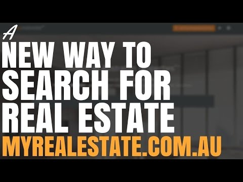 A New Way To Search For Real Estate (MyRealEstate.com.au)