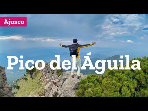Ascenso al Pico del Águila en el Ajusco Ciudad de México
