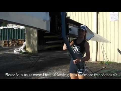 How to pick up a Rowing Boat - Single Scull