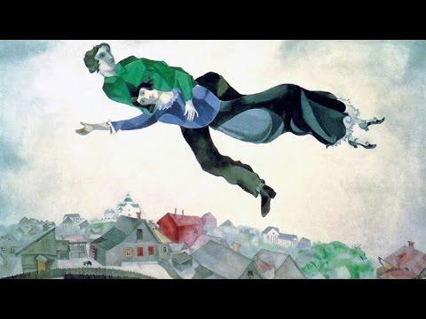 Marc Chagall - Sopra la città (spiegato ai truzzi)