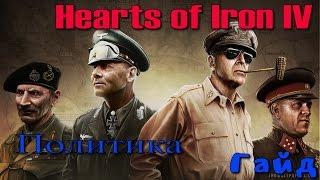 Hearts of Iron IV Гайд - #03 Политика
