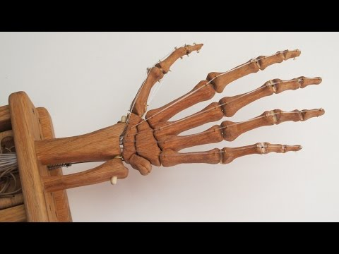 Wood Skeleton Hand - Making It Work