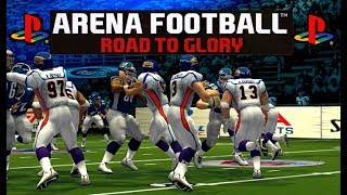 PS2 Arena Football Road to Glory on PC 60FPS 1440p gameplay PCSX2 (EA, 2007)